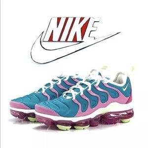 Nike Air Vapormax Plus Easter Blue And Pink Size 6